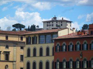 The 16th century Forte di Belvedere is a hidden gem
